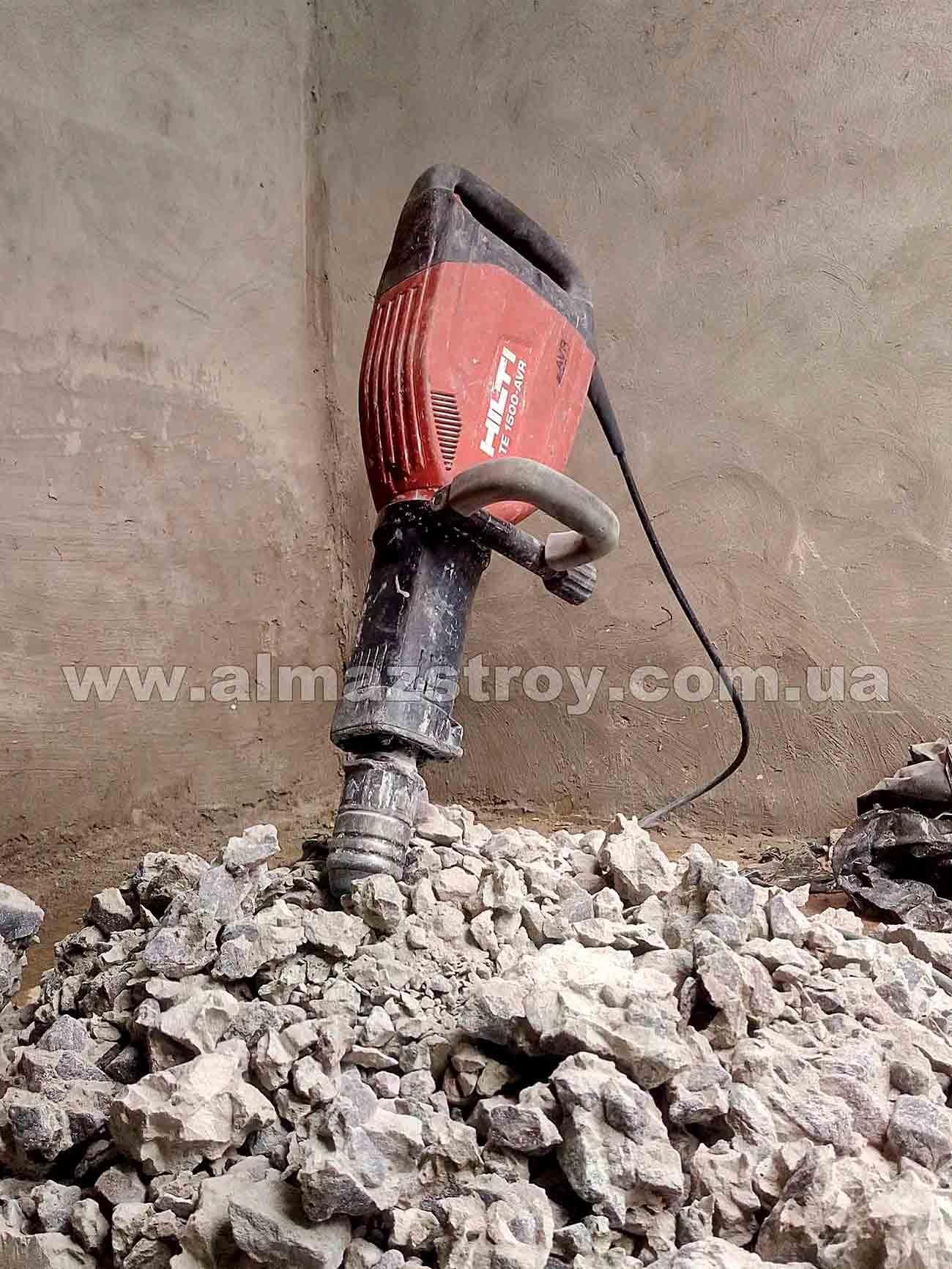 демонтаж бетона Харьков